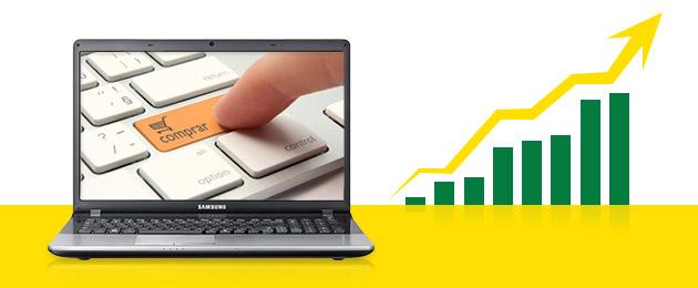 Crescimento das Vendas no Comércio Eletrônico