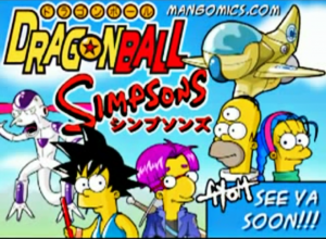 Dragon Ball Simpsons.