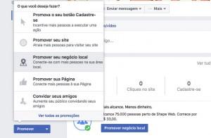 Promover anúncio no Facebook