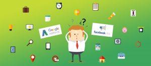Facebook Ads ou Google AdWords