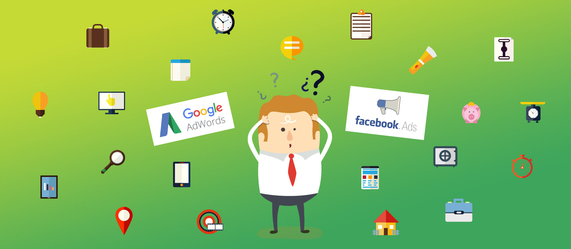 Facebook Ads ou Google AdWords