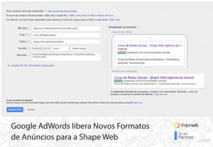 Novidades Google AdWords