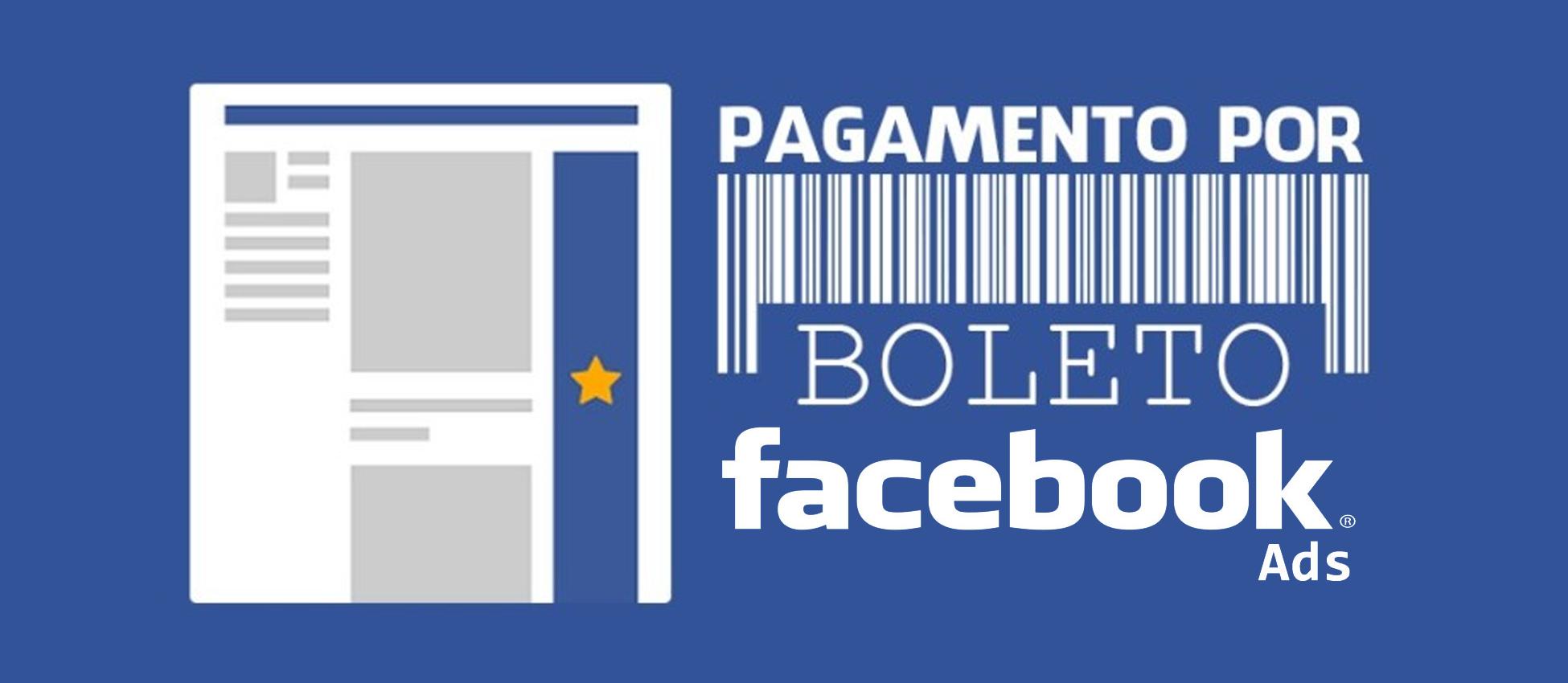 Boleto Facebook ADS