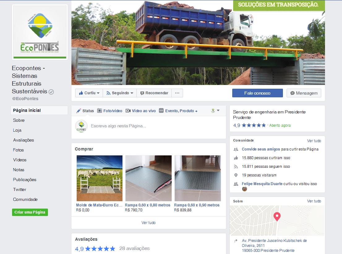 Facebook - Ecopontes