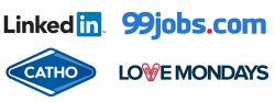 LinkedIn, Catho, 99 Jobs e Love Mondays