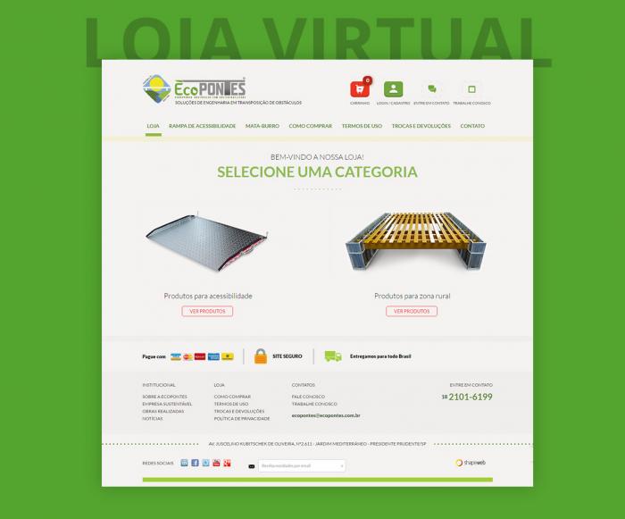 Loja Virtual - Ecopontes