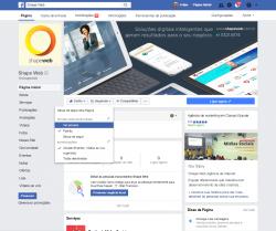 Ativar a opção de ver primeiro - Página do Facebook