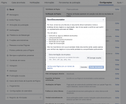 Solicitar selo de autenticidade-do-Facebook (Documentos)