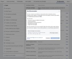 Solicitar selo de autenticidade-do-Facebook (Documentos)
