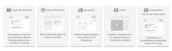 Tipos de anúncios Google AdWords