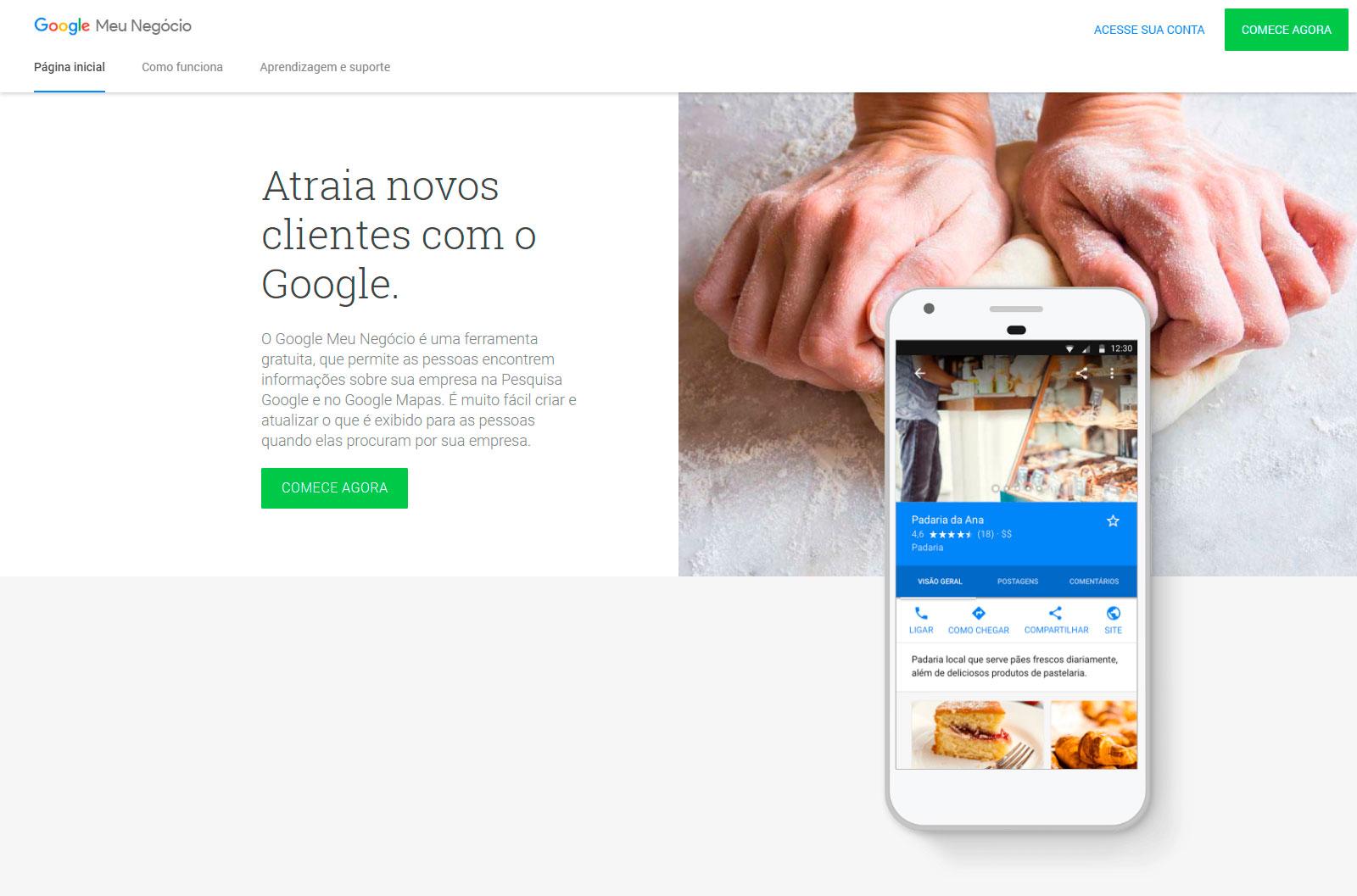 Google Meu Negócio - SEO Local
