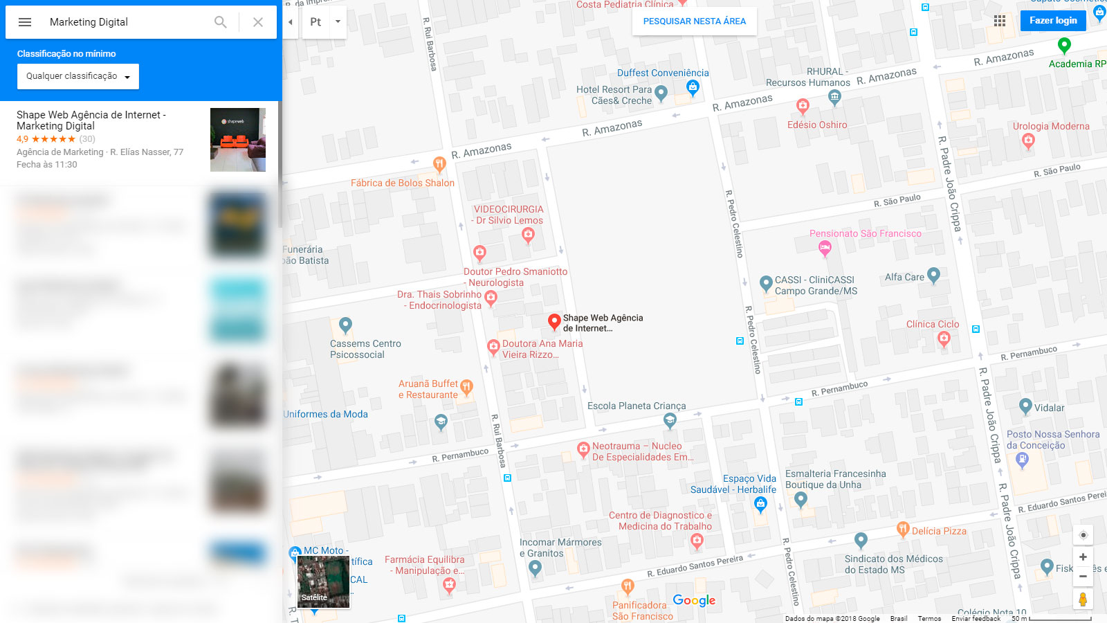 SEO Local - Busca no Google Maps