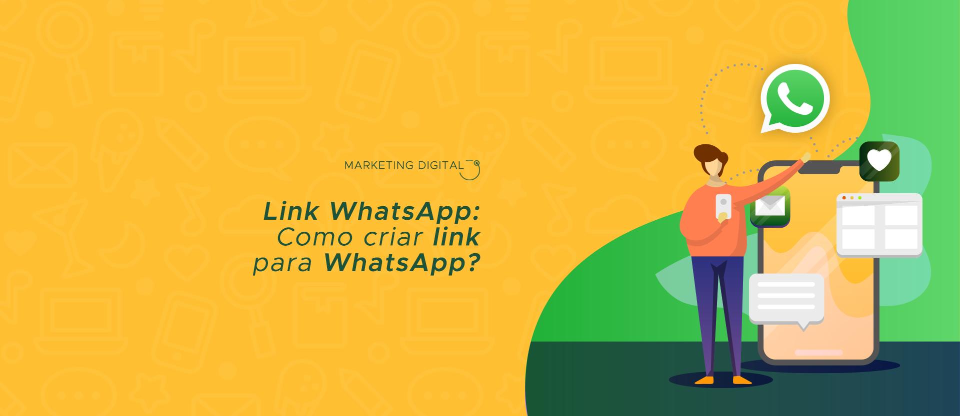 Como criar link para whatsapp?