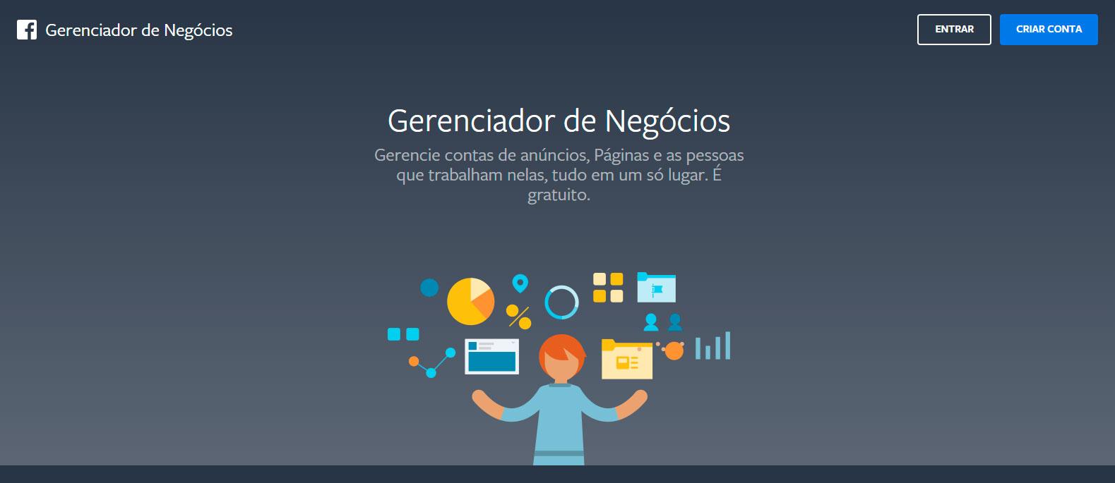 Facebook Business - Gerenciador de Negócios do Facebook