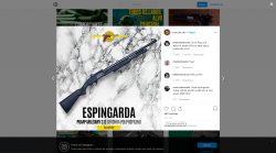 Visualização de curtidas de publicação do Instagram no Computador