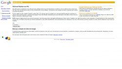 adicionar ou atualizar url de site no motor de busca do Google