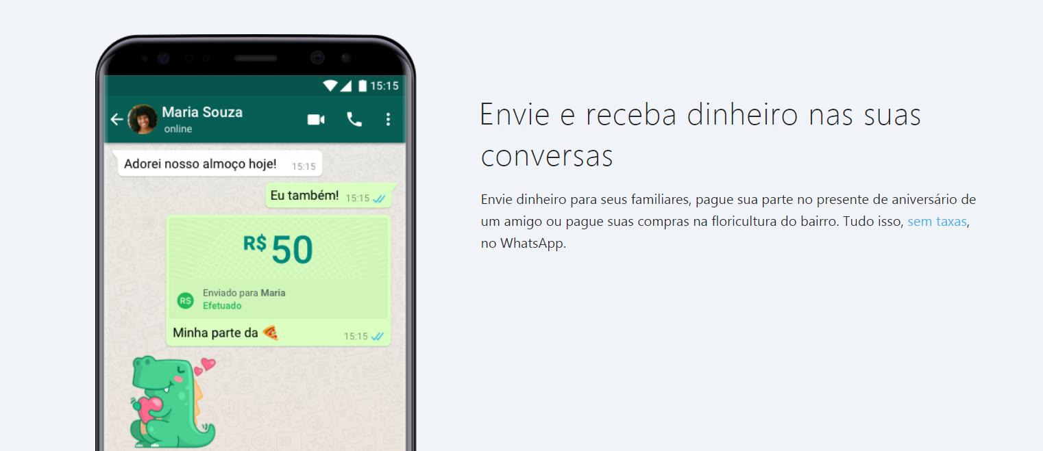 whatsapp pay - Como fazer pagamento pelo whatsapp